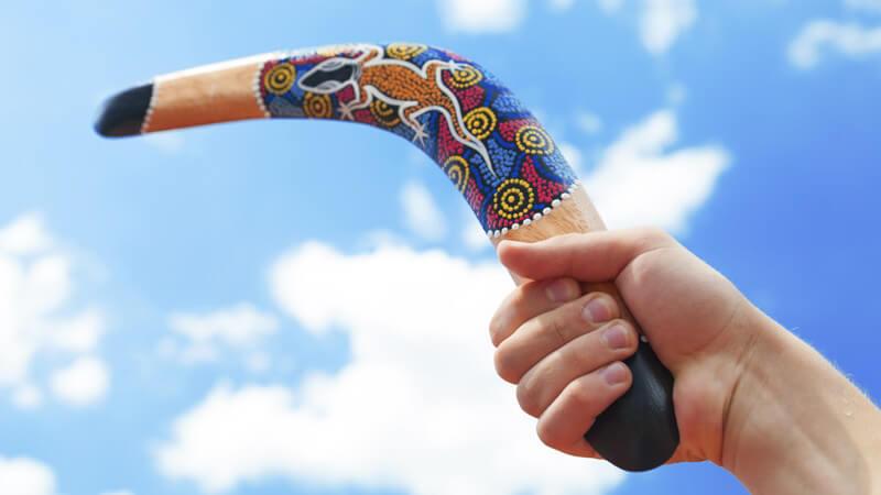 Wurftechniken - So kommt der Bumerang garantiert zum Werfer zurück