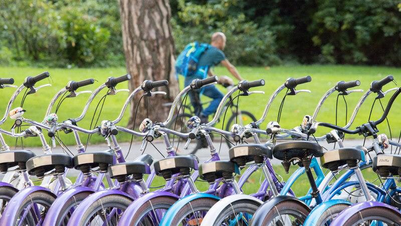 Call a Bike, Stadtrad & Co - Formen der Fahrradvermietung und Qualitätsmerkmale