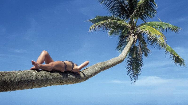Im Urlaub entspannen