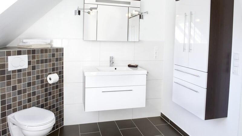 Bad, Küche und verschiedene Alltagsgegenstände bedürfen einer regelmäßigen Desinfektion