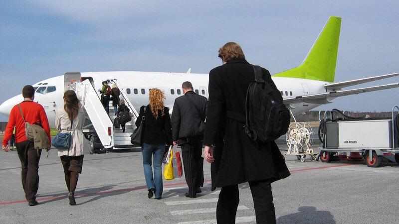 Führungen durch den Flughafen