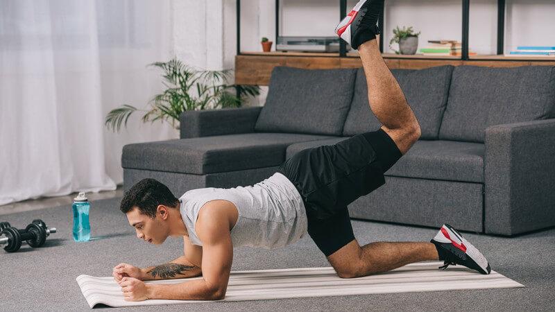 Das richtige Training zum Muskelaufbau an den Beinen