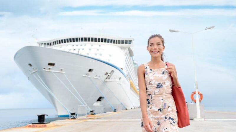 Urlaub auf dem Schiff