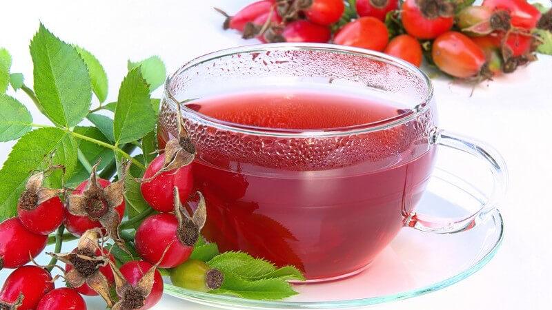 Je nach verwendeter Frucht hat der Tee eine belebende, beruhigende oder reinigende Wirkung