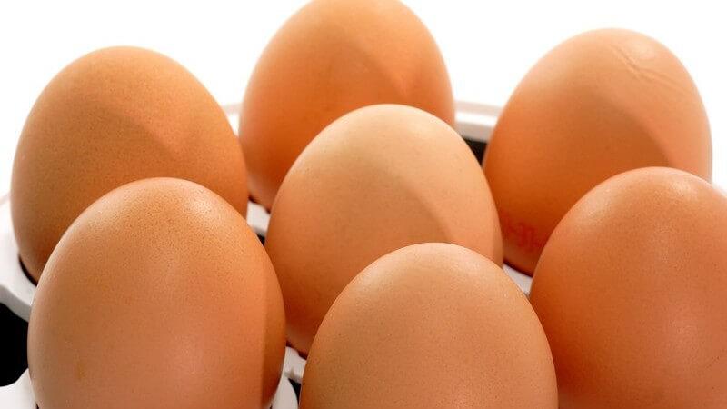 Möchte man auf dem Frühstückstisch ein bisschen mehr Kreativität zeigen, kann man sich z.B. für Eierbecher aus Glas, Keramik, Filz, Ton oder Pappe entscheiden
