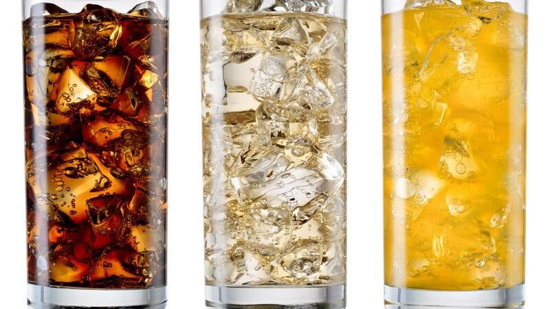 Fruchtsaftgetränke, Schorlen, Brausen, Limonaden und Energy Drinks