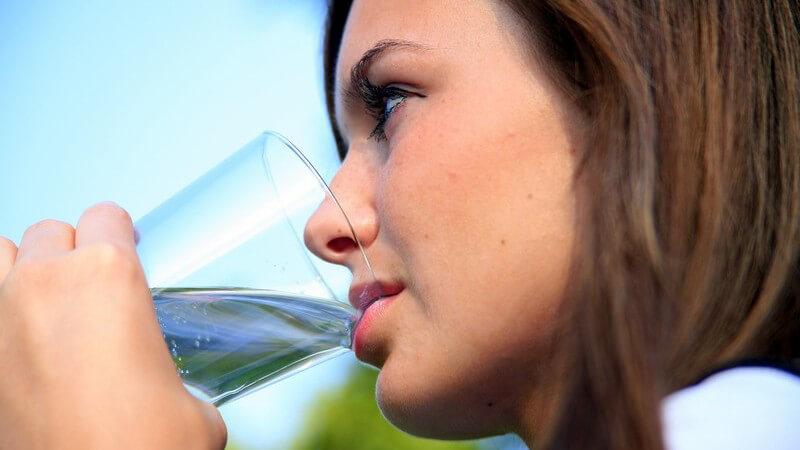 Es gibt mehrere Möglichkeiten, das Wasser aufzubereiten