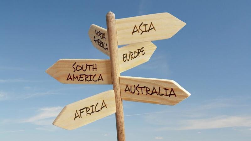 Tipps zur Wahl des Reiseziels