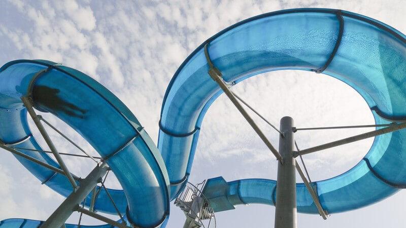 Attraktionen im Spaß- und Erlebnisbad