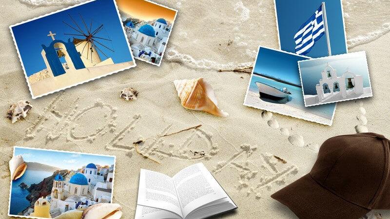 Andenken an die Urlaubsreise
