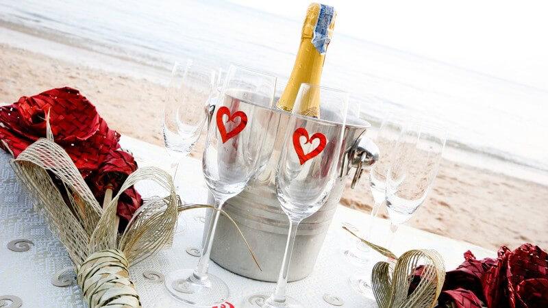 Der perfekte Ausflug mit einem romantischen Picknick