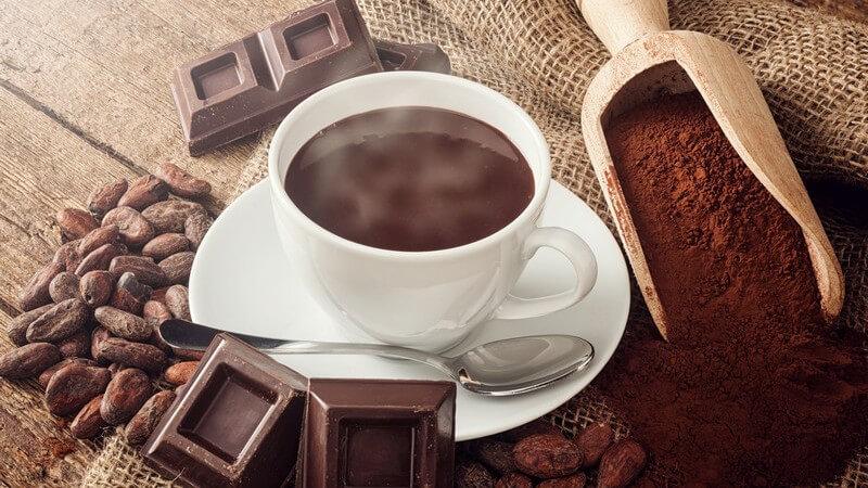 Kakaobohnen werden vor allem in Südamerika und Afrika angebaut