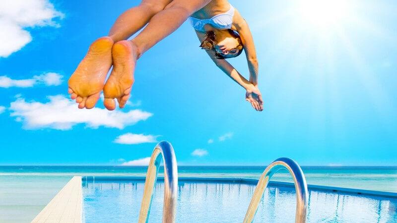 Die Urlaubszeit für Fitness und gesunde Ernährung nutzen