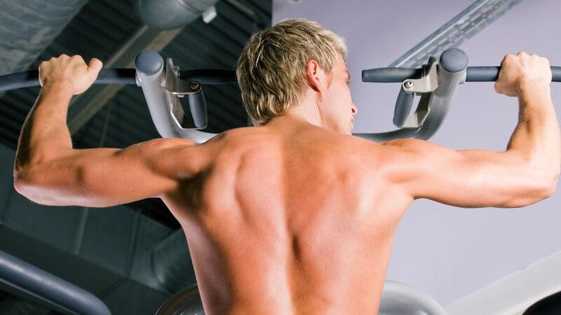 Möglichkeiten, die Muskeln der Schulter gezielt zu trainieren