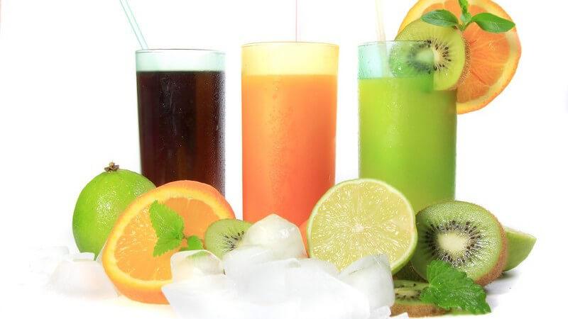 Typische Merkmale beziehen sich auf die Form sowie das Fassungsvermögen des Glases