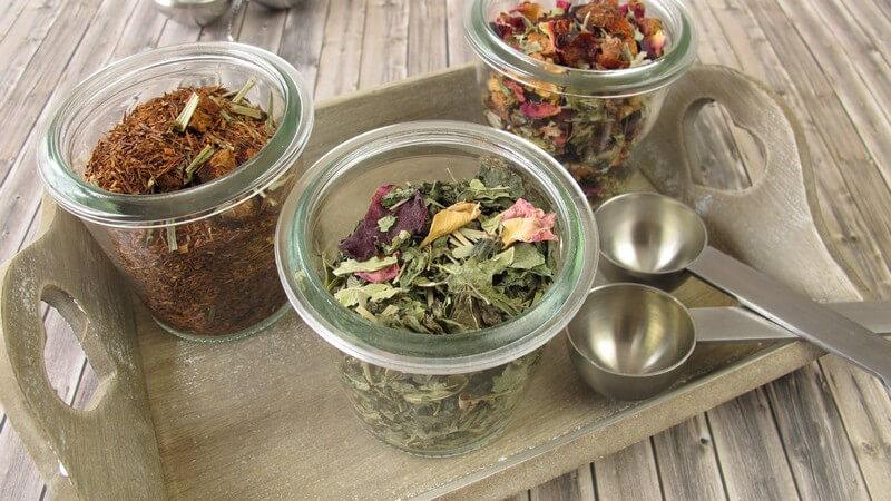 Das Tee-Ei für die Teezubereitung
