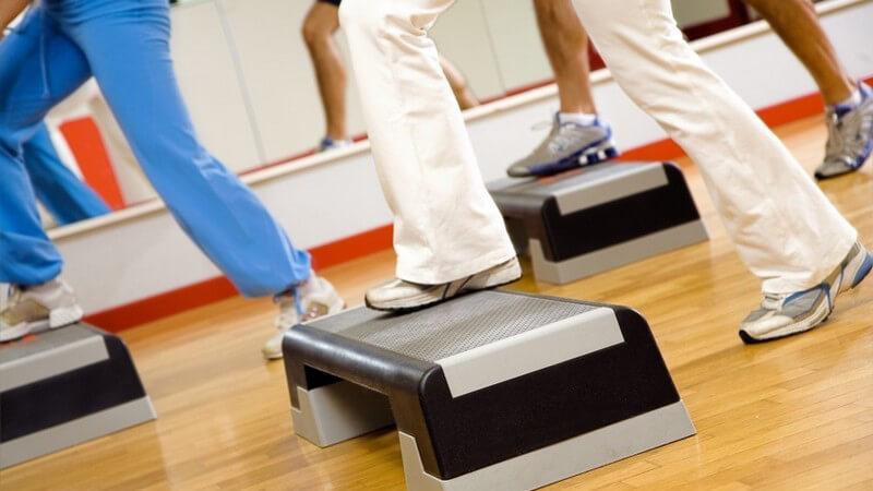Wissenswertes zu Step-Aerobic