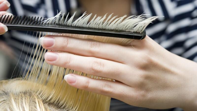 Haarbruch aus sieht wie Was ist