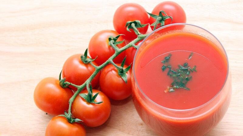 Gesundheitswert von Gemüsesäften