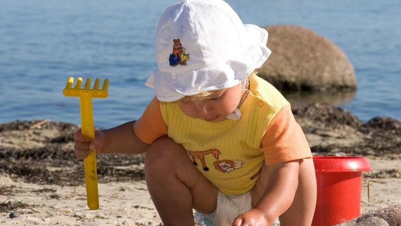 Ob Kinder auf Beidekleidung verzichten können hängt in erster Linie vom Alter und dem Setting ab