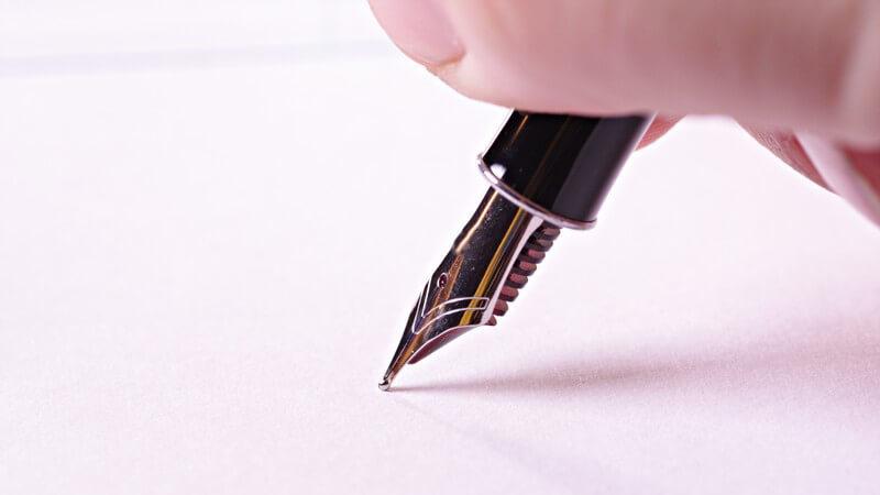 Bedeutung der Handschrift: Veränderungen im Schriftbild können Alarmsignale für Erkrankungen sein