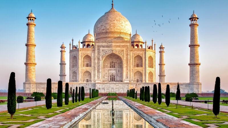 """Aufbau und Bedeutung des """"Kronenpalastes"""" in Indien"""