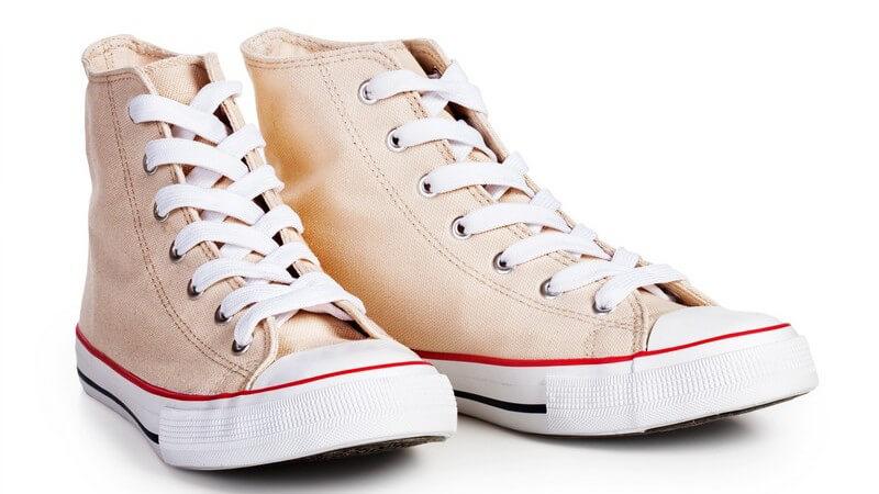 Wissenswertes zum Sneaker und Skaterschuh