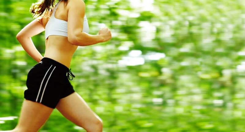 Motiviert in das Frühlings-Workout