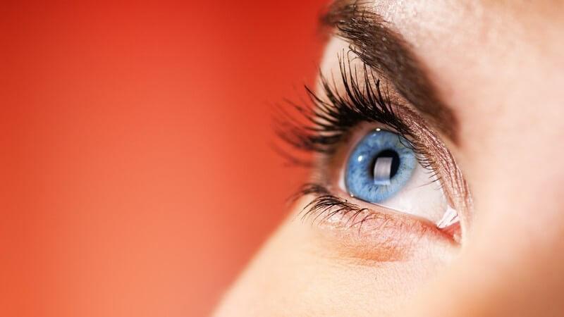 Informationen über die Farbenblindheit und spezielle Formen wie die Rot-Grün-Blindheit, die Blauzapfen-Monochromasie, die cerebrale Achromatopsie sowie die totale Farbenblindheit