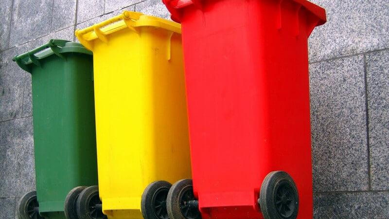 Informationen zu den unterschiedlichen Mülleimerarten