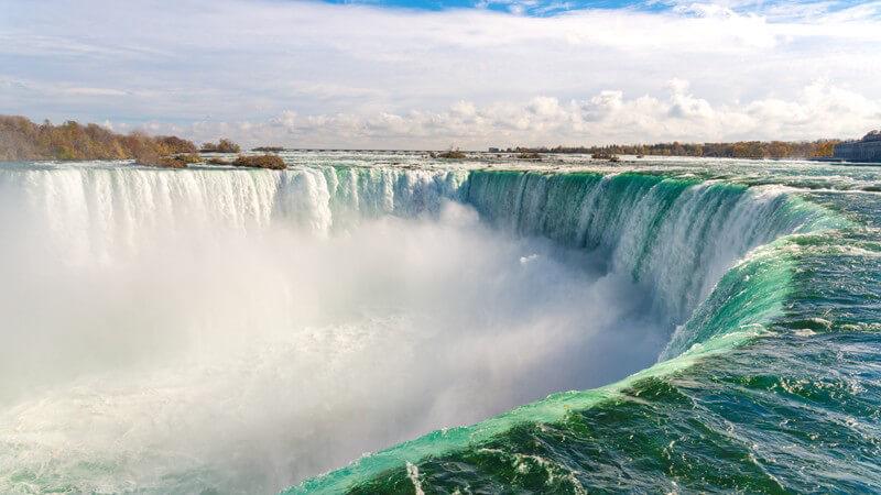 Merkmale der Niagara Falls