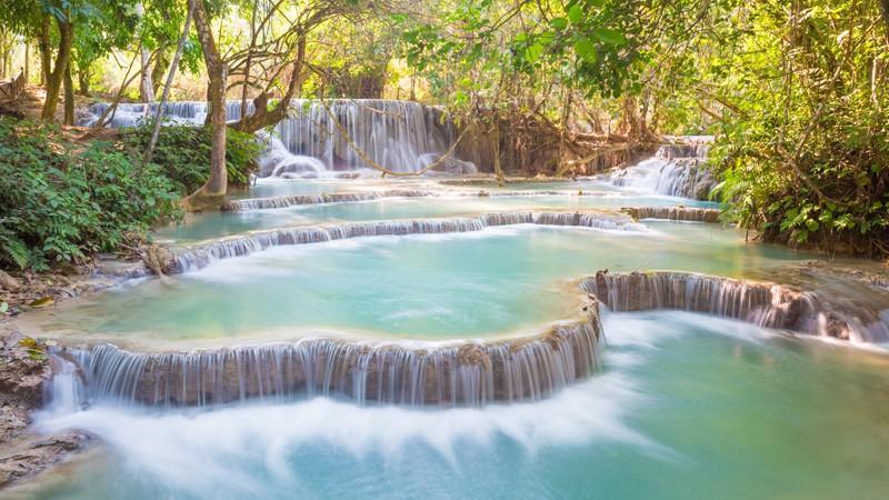Wissenswertes zum Tat Kuang Si in Laos