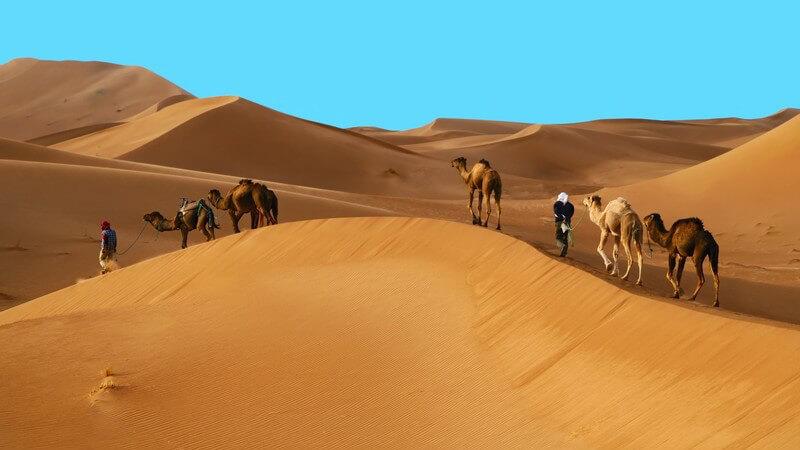 Sehenswertes im Reiseziel Marokko