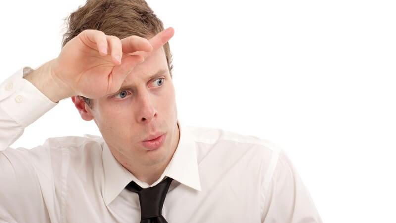 Probleme im zentralen Nervensystem, aber auch emotionale Schwankungen können der Auslöser sein
