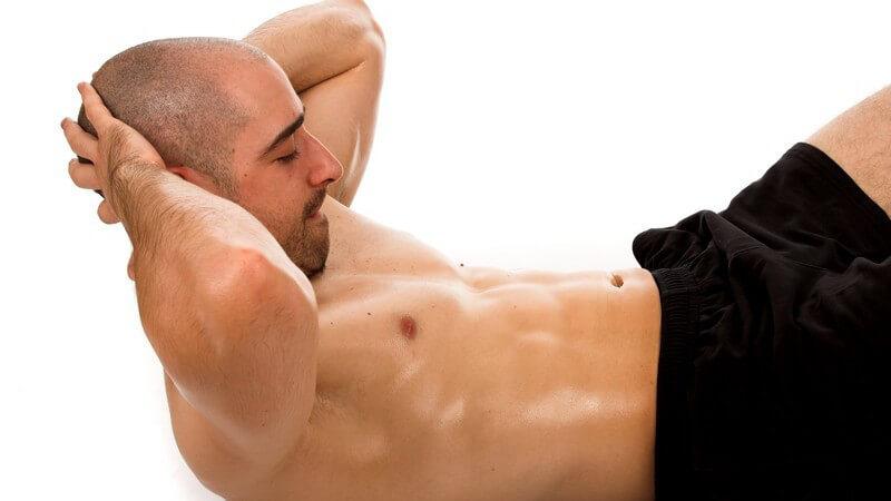 Unterschiedliche Geräte zum Trainieren der Bauchmuskeln