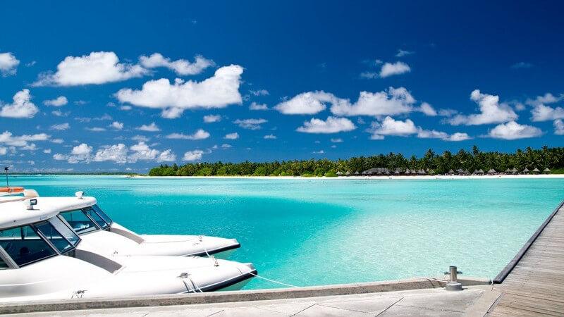 Sehenswertes im Reiseziel Malediven