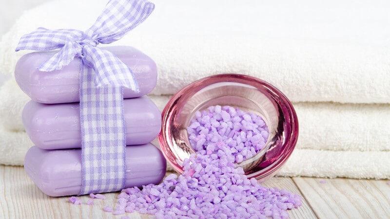 Seife, das wohl älteste Reinigungsmittel der Welt, eignet sich in individualisierter Form besonders gut als persönliches Geschenk