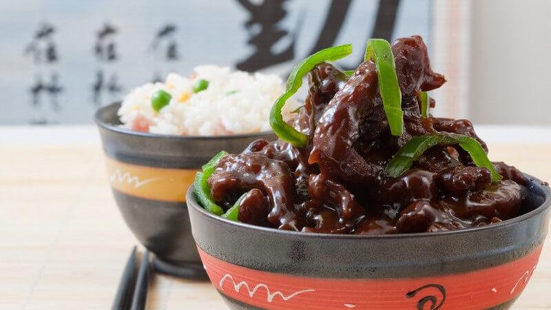 Ein Besuch im chinesischen Restaurant