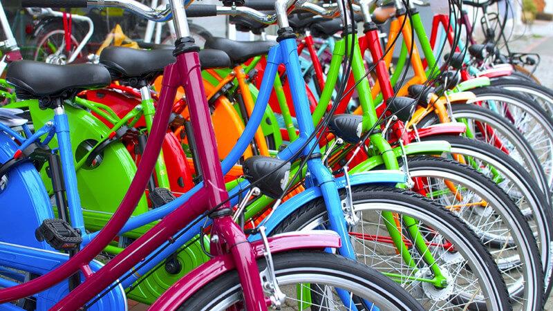 Wissenswertes rund um das Fahrrad sowie die verschiedenen Fahrradtypen