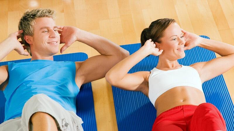 Bei welchen Übungen kommen Gymnastikmatten zum Einsatz?