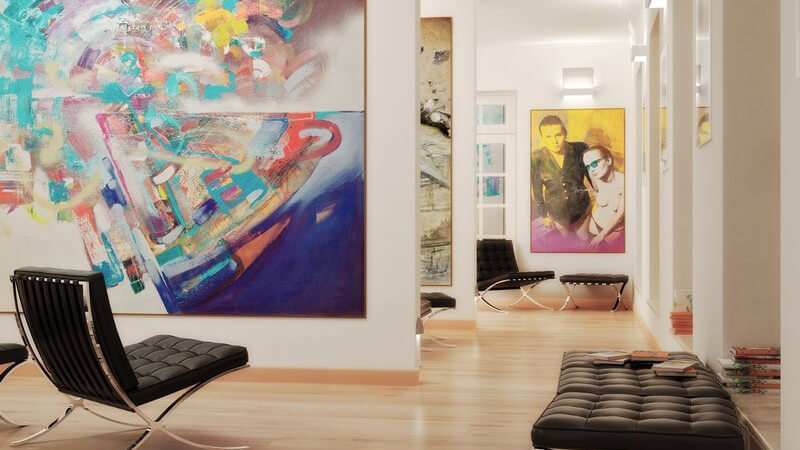 Die Aufgaben einer Kunstgalerie bestehen in der Erhaltung der Kunstwerke und darin, dem Menschen die Kunst näher zu bringen und das Handeln mit Kunstgegenständen durchzuführen