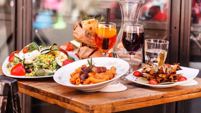 Italienisch Essen gehen