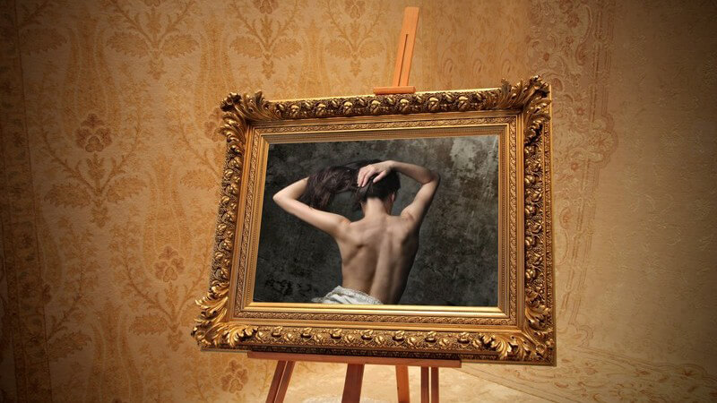 Antike Bilderrahmen schonend reinigen
