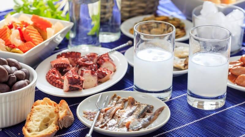 Griechisch Essen gehen