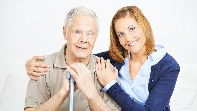 Die Arbeit von Pflegern und Pflegerinnen