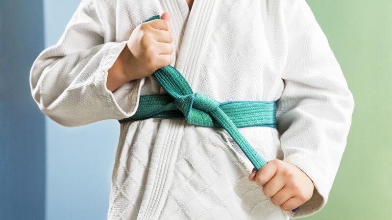 Größe und Beschaffenheit einer Judomatte