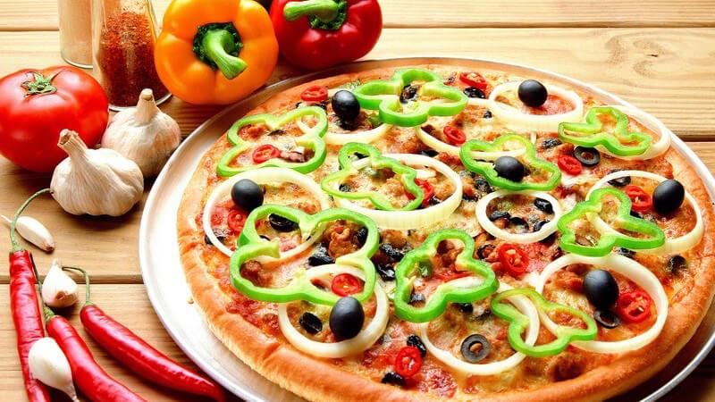 Pizza essen gehen