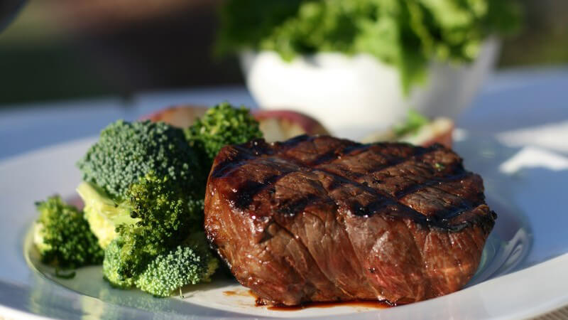 Steaks essen gehen