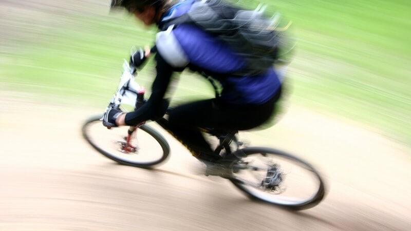 Typische Merkmale von Mountainbikes