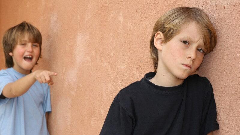 Warum sich Kinder gegenseitig verspotten